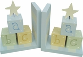 Star ABC Blocks Bookends