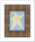 Star Custom Framed Giclee Print