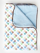 Star Dot Piped Blanket