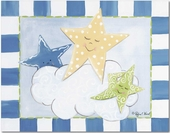 Stars Gallery Wrapped Stretched Giclee Canvas