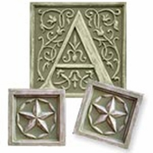 Stars Initial & Accent Wall Plaque Set