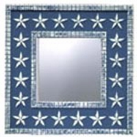 Stars & Stripes Square Mirror