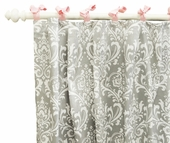 Stella Gray Curtain Panel Set