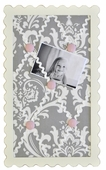 Stella Gray Mini Memo Board
