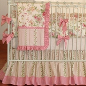 Stephanie Anne Crib Bedding