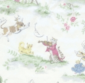 Story Book Upholstery Fabric