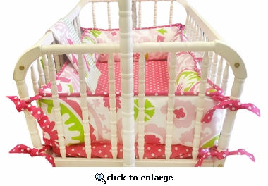 Strawberry Fields 2-Piece Cradle Bedding Set