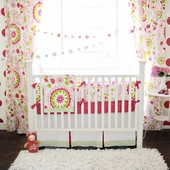 Strawberry Fields 2-Piece Crib Bedding Set