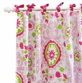 Strawberry Fields Curtain Panel Set