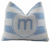 Striped Personalized Pillow