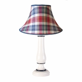 Sundeck Plaid Large Pin Urn Lamp