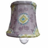 Suzani Lavender Night Light