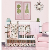 Sweet Dreams Crib Bedding Set
