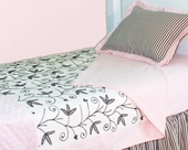 Sweet Dreams Toddler Coverlet & Pillow