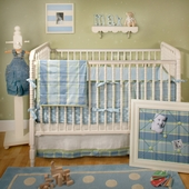 Sweet Pea Baby 2-Piece Crib Bedding Set