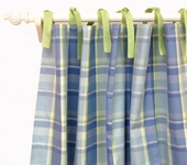 Sweet Pea Baby Curtain Panel Set