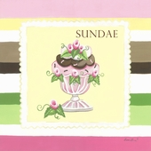 Sweet Treat Sundae Canvas Wall Art