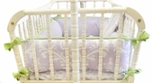 Sweet Violet 2-Piece Cradle Bedding Set