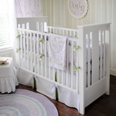 Sweet Violet 2-Piece Crib Bedding Set