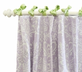 Sweet Violet Curtain Panel Set