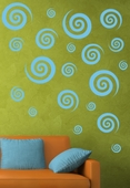 Swirly Swirl Custom Wall Decal