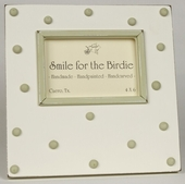 Swiss Dots Green Picture Frame