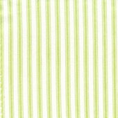 Taffeta Ticking Lime Fabric