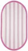 Taffy Braided Rug - Bright Pink