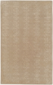 Tan & Beige Loops Candice Olson Hand-Tufted Rug