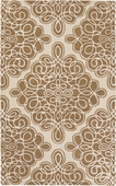 Tan Diamond Loops Candice Olson Hand-Tufted Rug