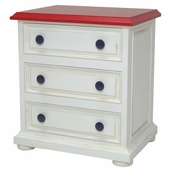 Taylor 3 Drawer Night Stand