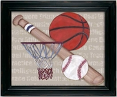 Team Player Framed Giclee Print