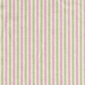 Thin Green and Pink Stripe Fabric