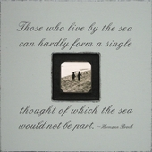 Those Who Live by the Sea Photobox Frame