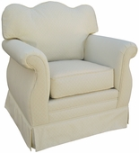 Tiara Adult Empire Glider Rocker Chair - Foam or Down