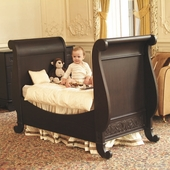 Toddler Bed Kit in Espresso - Chelsea Sleigh Crib