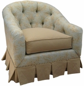 Toile Blue Adult Park Avenue Glider Rocker Chair - Foam or Down