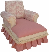 Toile Pink Child Club Chaise Lounge
