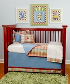 Toys & Tales Toddler Coverlet & Pillow