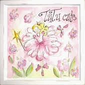 Tutu Cute Mounted Deco Art Print
