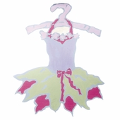 Tutu Magnet Board with Green Skirt