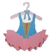 Tutu Magnet Board with Pink Skirt