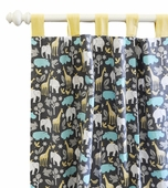 Urban Zoology Curtain Panel Set