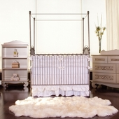 Venetian 3 in 1 Crib in Pewter