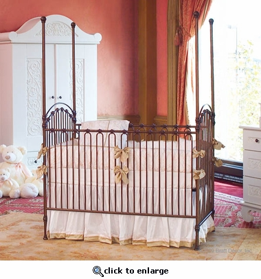 Venetian 3 in 1 Crib in Venetian Gold