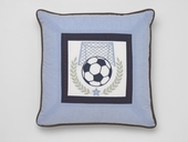 Vintage Sports Soccer Throw Pillow