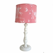 Watermelon Pagoda Bella Medium Hood Lamp