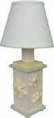 White Daisy Table Lamp