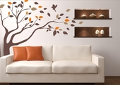 Windblown Tree Custom Wall Decal
