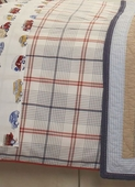 Windowpane Plaid Duvet Cover